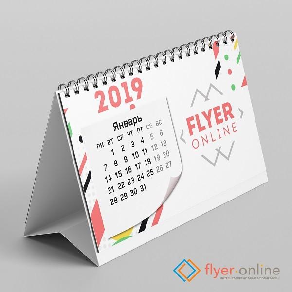 Настольные календари типа «домик»