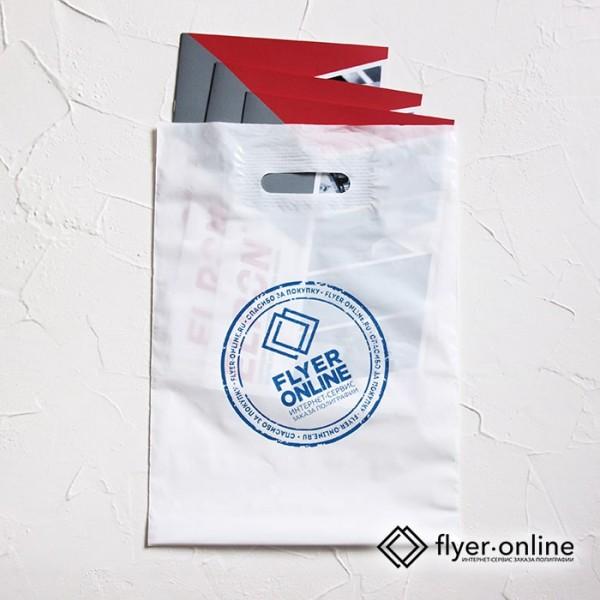 Печать на ПВД пакетах