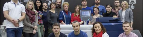 Запуск новой цифровой печатной машины Xerox® Versant® 80 PRO