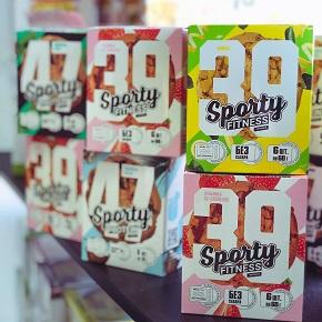 Коробки из листового картона SBB для печенья Sporty
