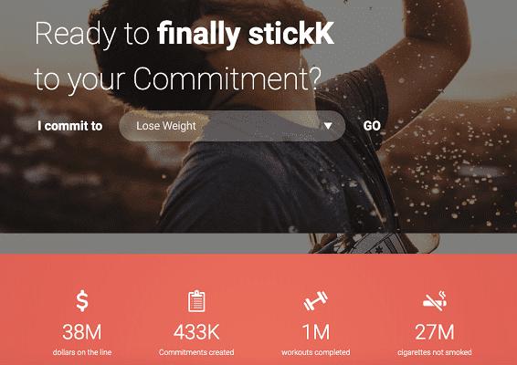"""stickk.com: """"Вы готовы, наконец достичь своих целей?"""""""