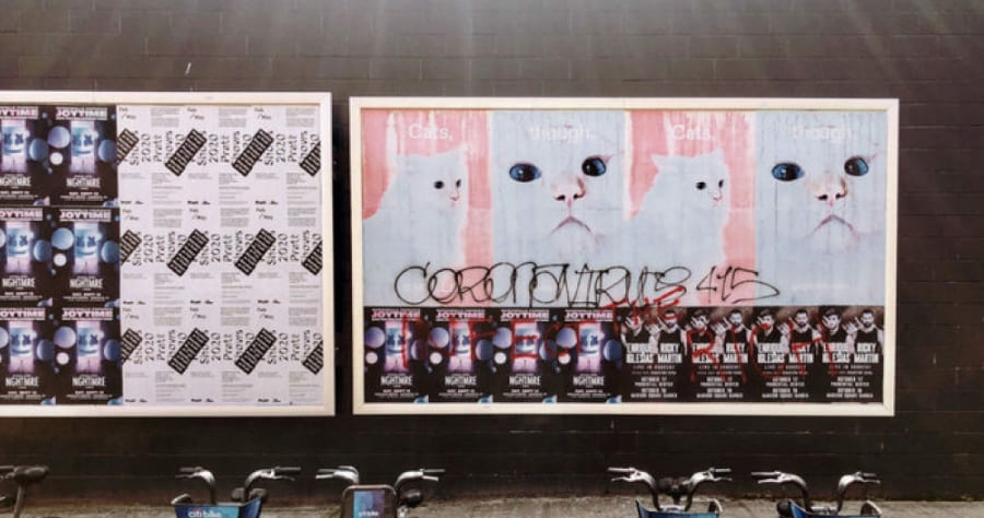 Рекламные щиты на паузе: Что происходит с наружной рекламой в карантин?