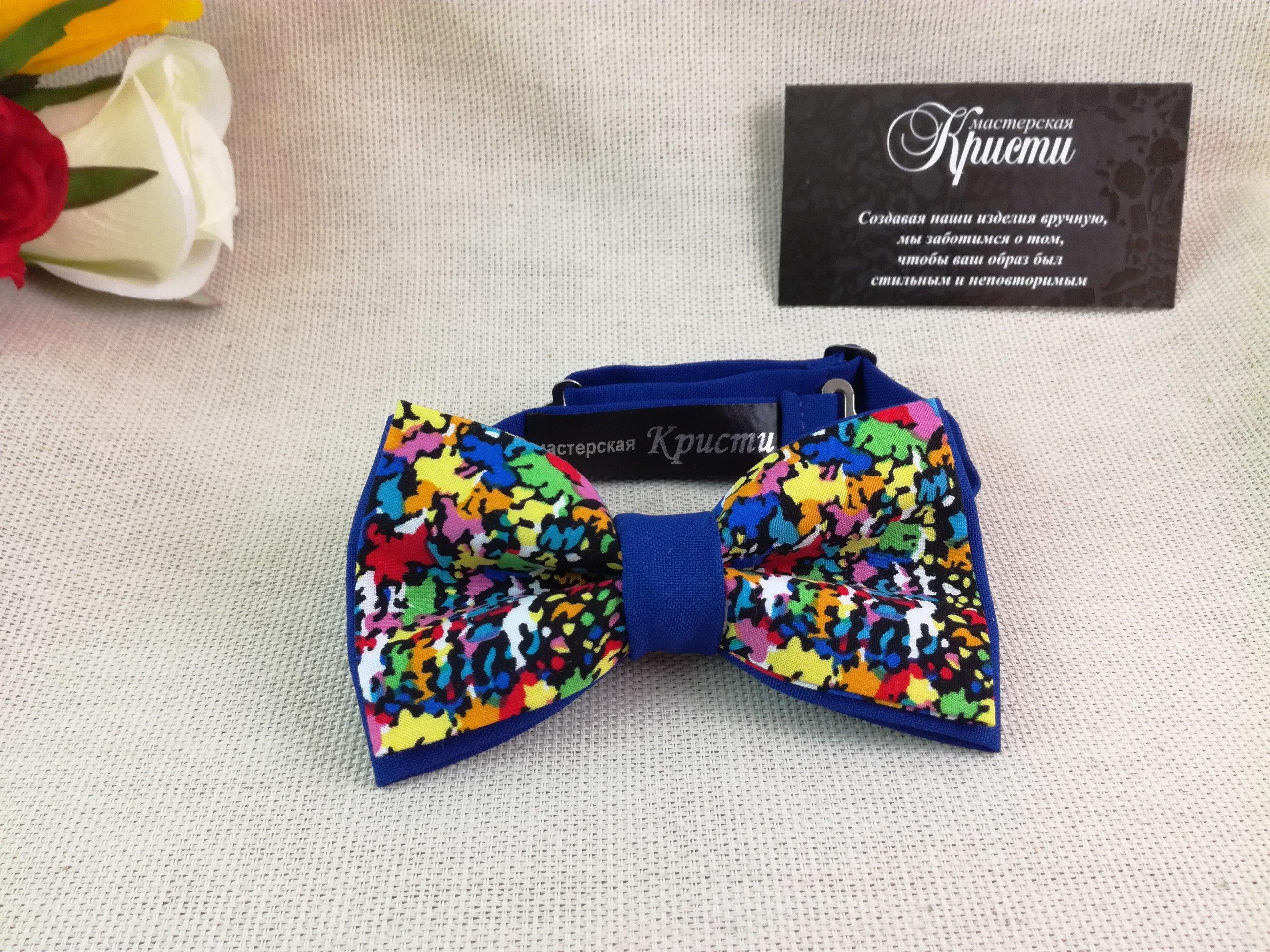 Кристи - мастерская индивидуальных галстуков | Визитки с 3D-лаком