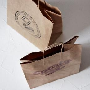 Крафтовые пакеты с лого